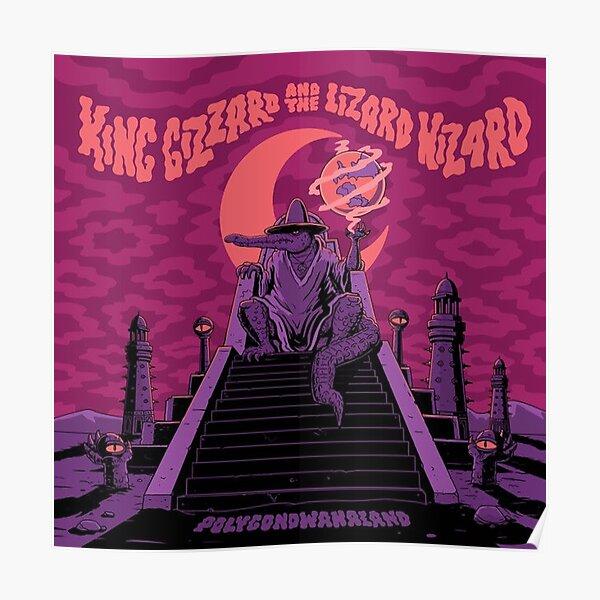King Gizzard and the Lizard Wizard Polygondwanaland Poster