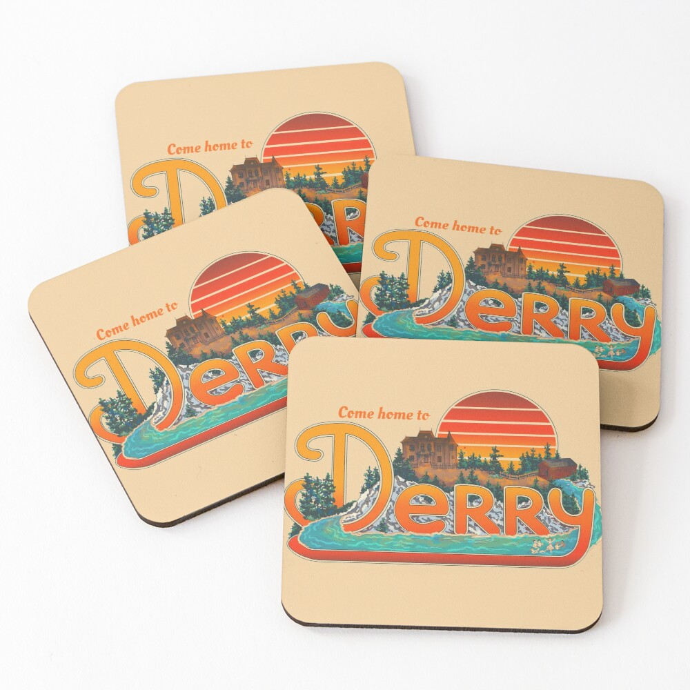 Come Home To Derry Coasters (Set of 4)
