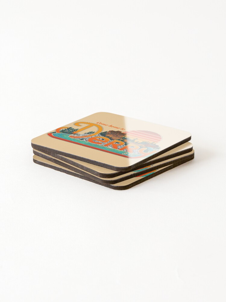 Alternate view of Come Home To Derry Coasters (Set of 4)