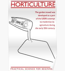 Practical Science for Beginners: Horticulture Poster