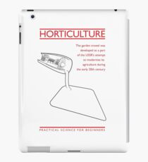 Practical Science for Beginners: Horticulture iPad Case/Skin