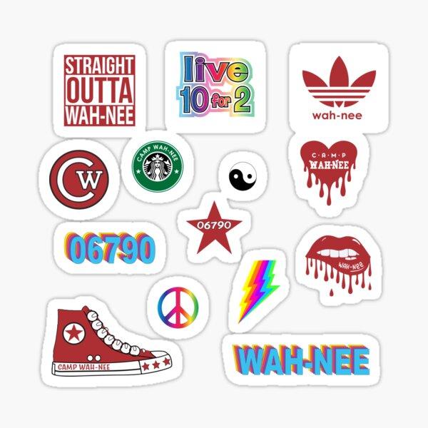 WAH-NEE Sticker