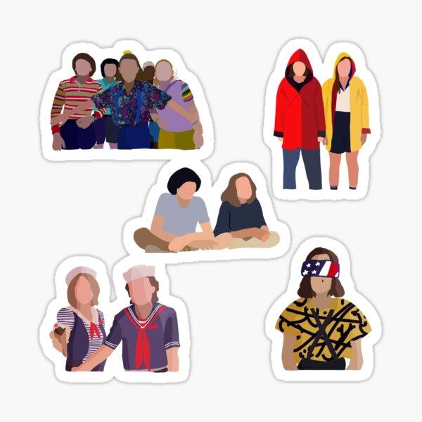 Stranger Things Pack Sticker