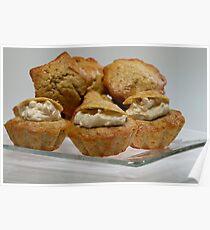 Banana Muffins Poster