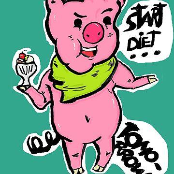 Start diet TOMORROW ! by Maxyjaz