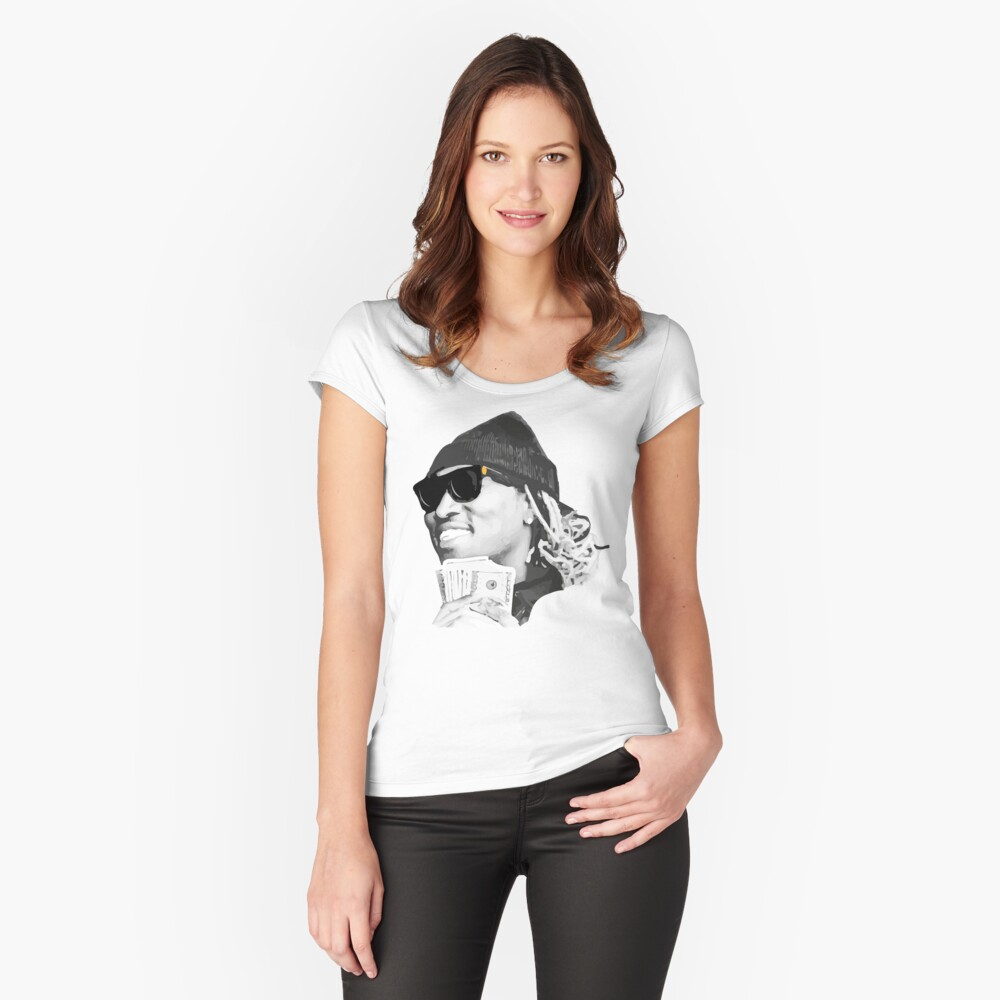 Future Women's Fitted Scoop T-Shirt Front