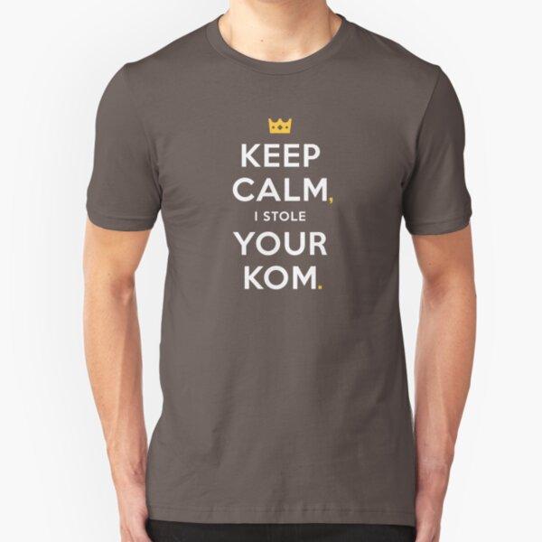 Keep Calm Slim Fit T-Shirt