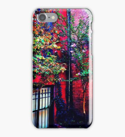 Summer Autumn in NYC iPhone Case/Skin