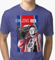 Kim Jung ILL- BOOMBOX Tri-blend T-Shirt