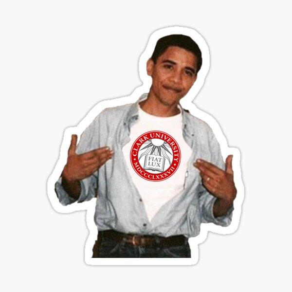 Clark University Obama Sticker