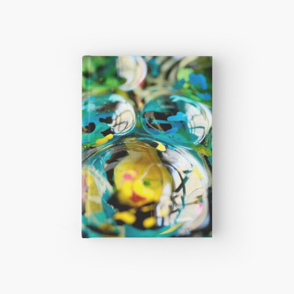 Photo of Finished Artwork Detail by Chicago Artist Gary Bradley Hardcover Journal