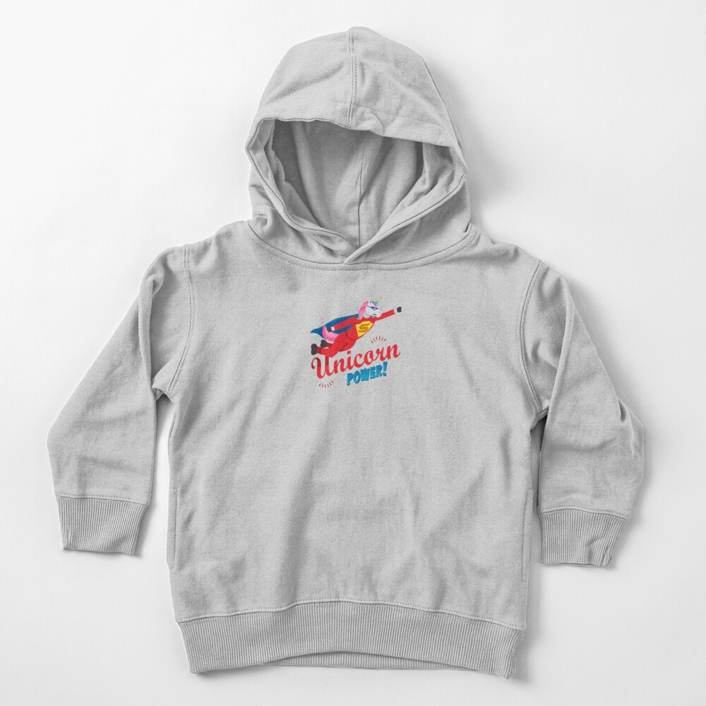 Unicorn Power Toddler Pullover Hoodie