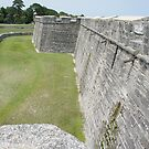 The Castillo San Marcos by Laurie Perry