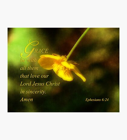 God's Grace  Photographic Print