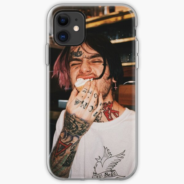 lil peep aesthetic portrait  iPhone Soft Case