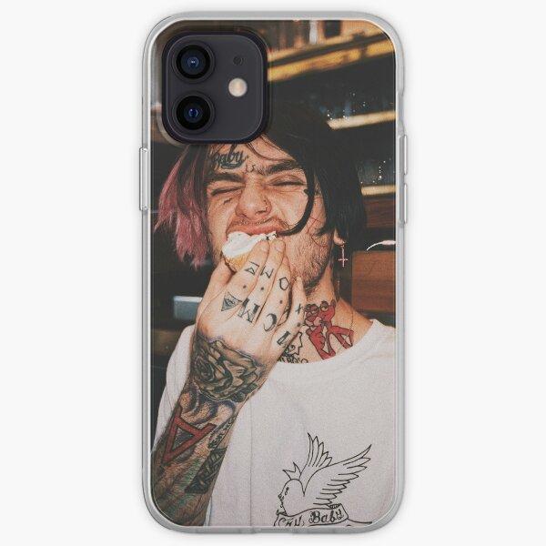 lil peep aesthetic portrait  iPhone Soft Case