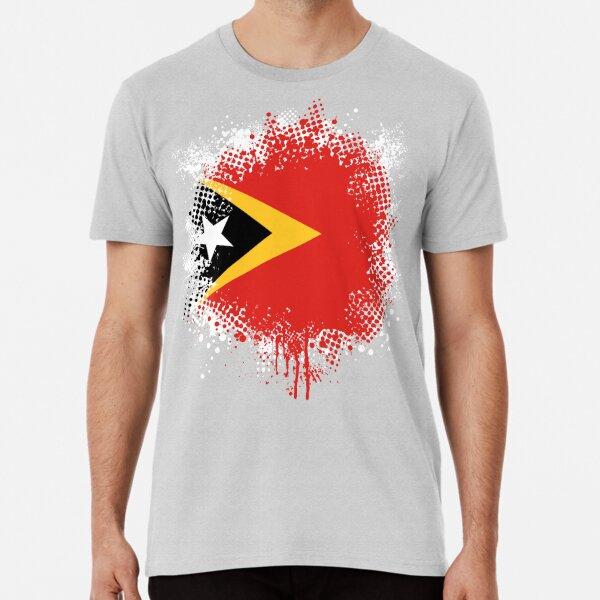 Timor-Leste East Timor T-Shirt Country National Map Flag Fun Novelty T-Shirt