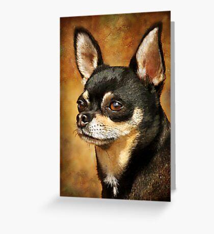 Chihuahua Portrait Greeting Card