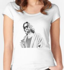 The Big Lebowski -The Dude Women's Fitted Scoop T-Shirt
