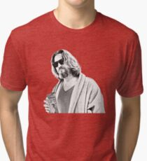 The Big Lebowski -The Dude Tri-blend T-Shirt