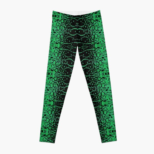 Mesh, Pattern, design, tracery, weave, structure, framework Leggings