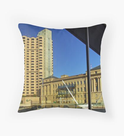 Adelaide reflections Throw Pillow