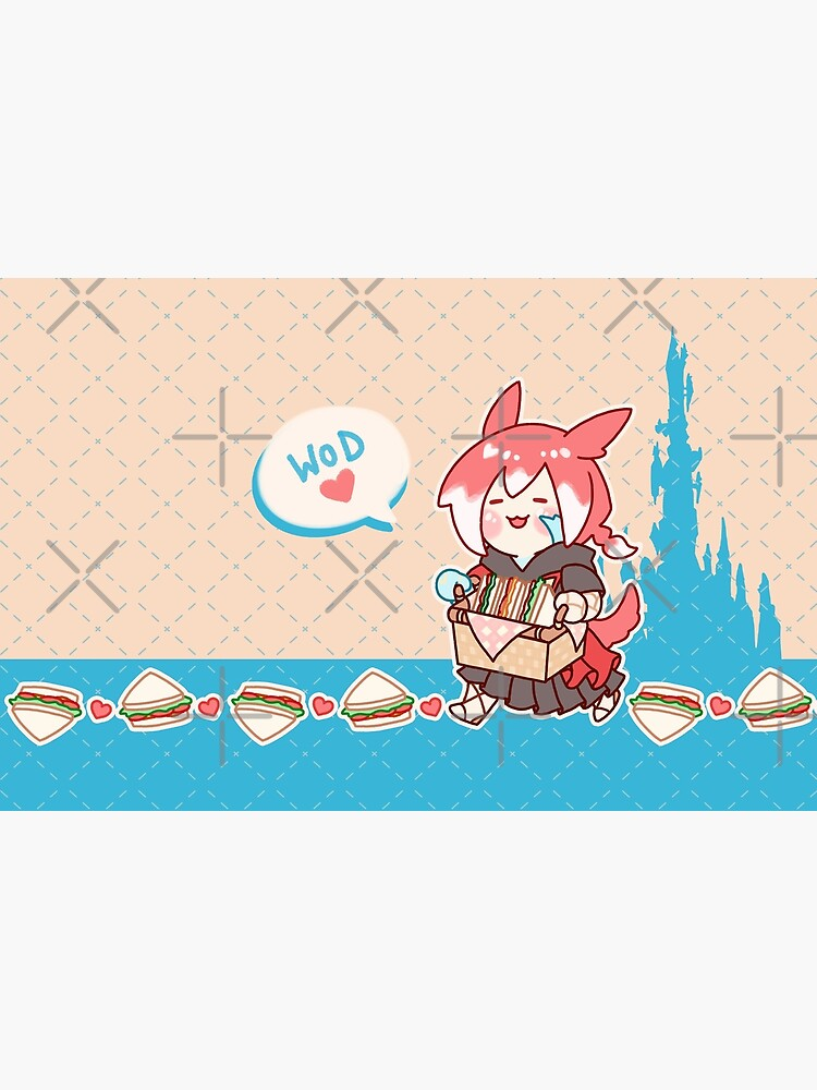 Crystal Exarch Snack Time Pouch by Asrielle