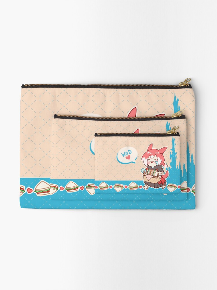 Alternate view of Crystal Exarch Snack Time Pouch Zipper Pouch