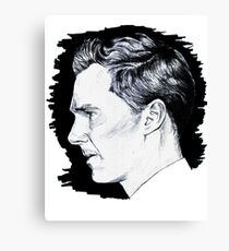 Cumberbatch Drawing Canvas Print