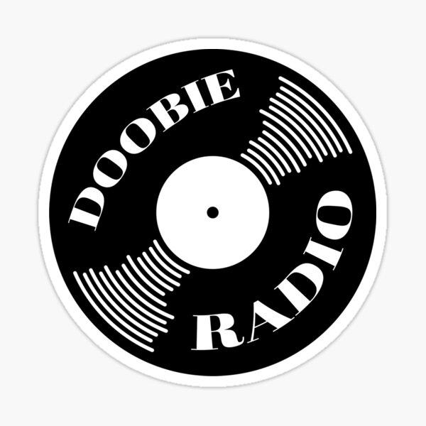 Doobie Radio Sticker 91.1 WDUB Sticker