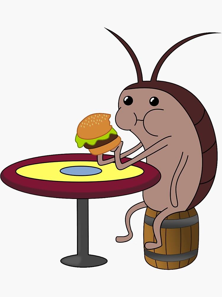 Spongebob Cockroach by gsill