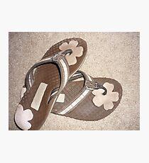 Sandals  Photographic Print