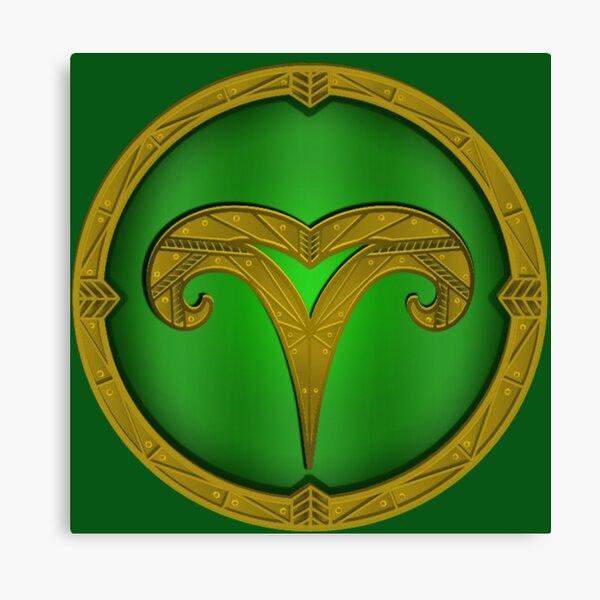 Markarth City Emblem Canvas Print