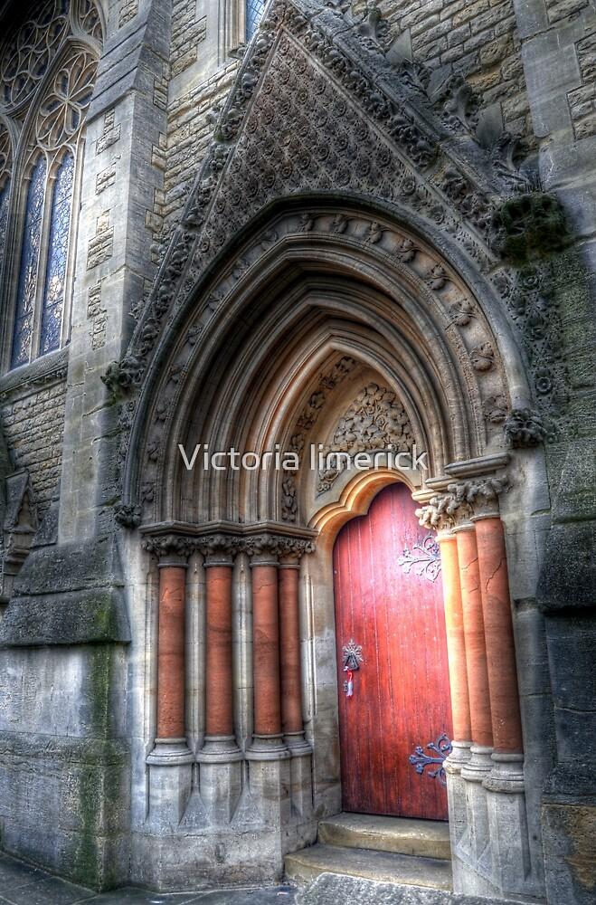 College Door - Oxford by Victoria limerick