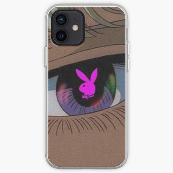 Playboy Aesthetic Anime Eye Funda blanda para iPhone