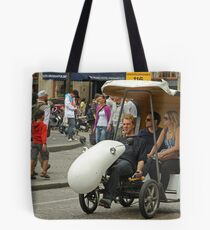 Cycle Taxi Tote Bag