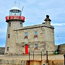 Howth Harbour Lighthouse by Martina Fagan