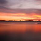 Forster Sunset by Joel  Haldane