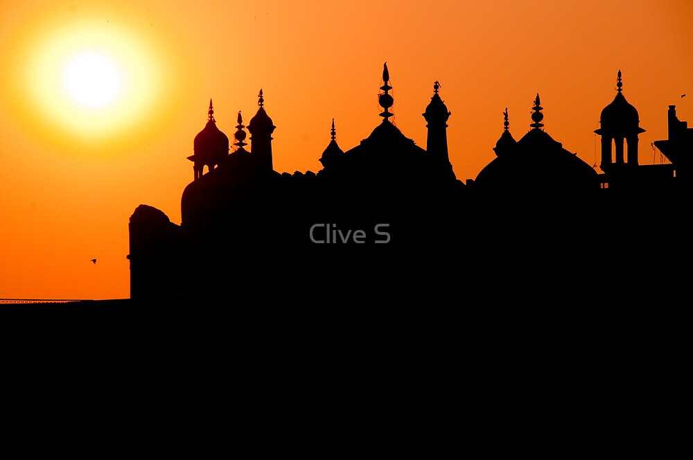 Varanasi Sunset by Clive S