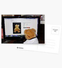 Cyber Teddy Postcards