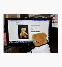 Cyber Teddy Photographic Print