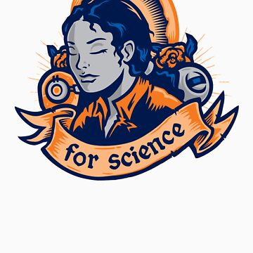 Our Lady Of Science by WinterArtwork