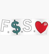 Offizielle Fuck Money Spread Liebe - J. Cole Poster