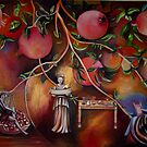 Pomegranates by ana bilic prskalo