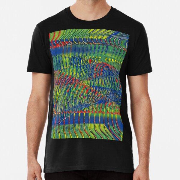 SPIRALEN ABSTRAKT PARANOIA Premium T-Shirt