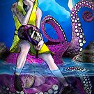 Biker in The Octopus Ice Cavern by emxacloud