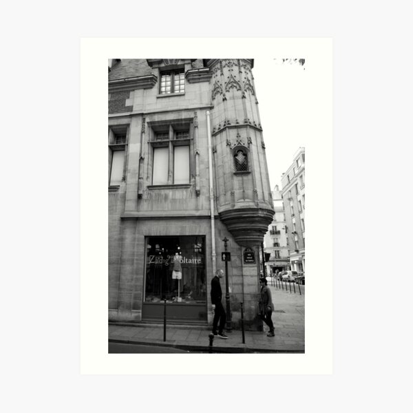 cityscapes #188, zadig & voltaire  Art Print