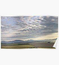 Skagit valley farmlands Poster