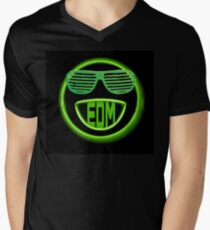 EDM neon smiley face with shades T-Shirt
