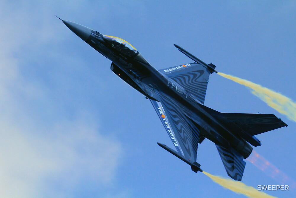 Belgian F16  by SWEEPER